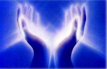 blue hands energy