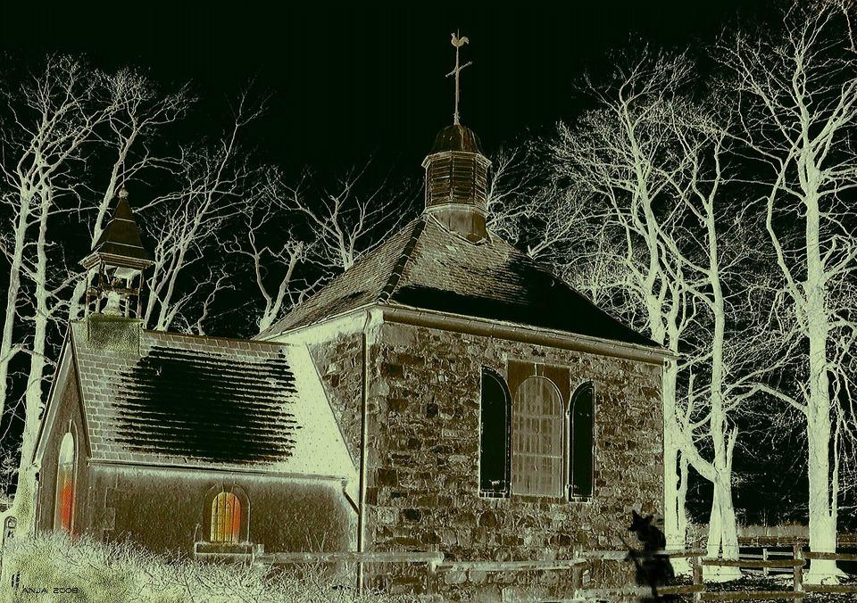 pam spooky church