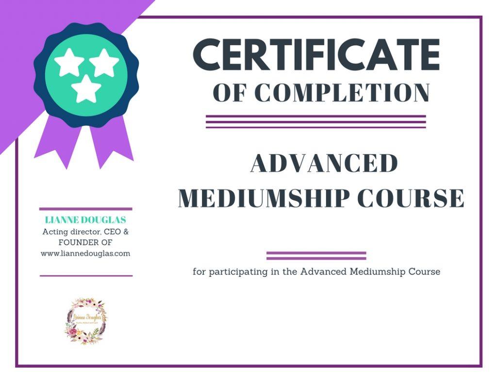 advanced mediumship
