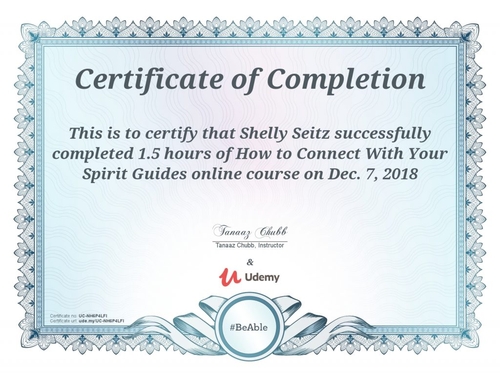 connecting to spirit guides