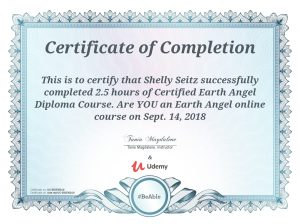 EARTH ANGEL CERT