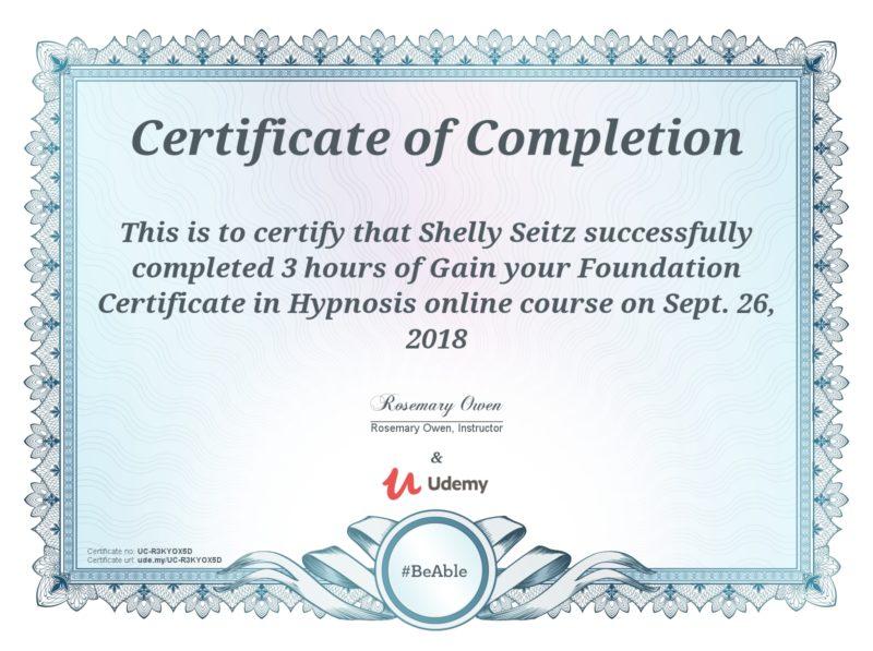 foundation cert in hypnosis