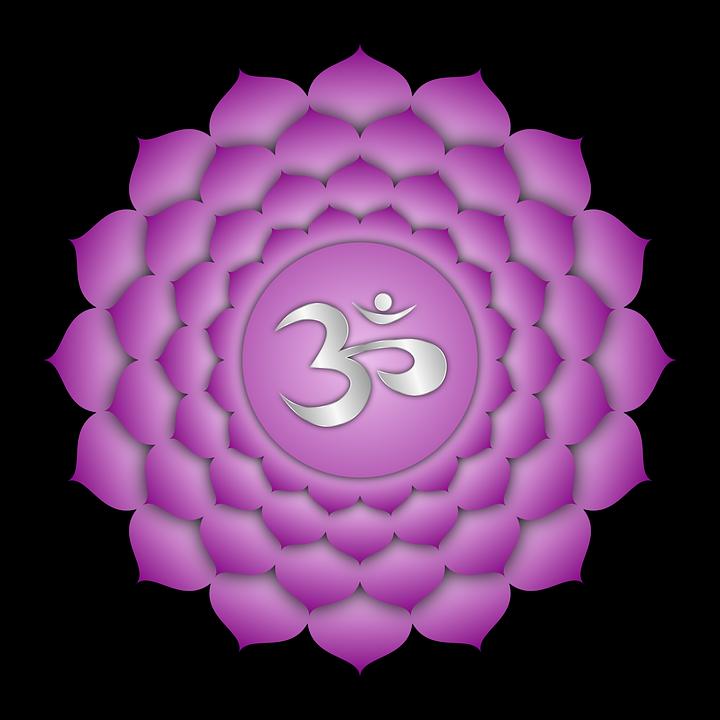 crown chakra energy reiki badge
