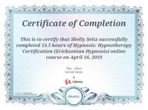 Ericksonian Hypnosis Hypnotherapy