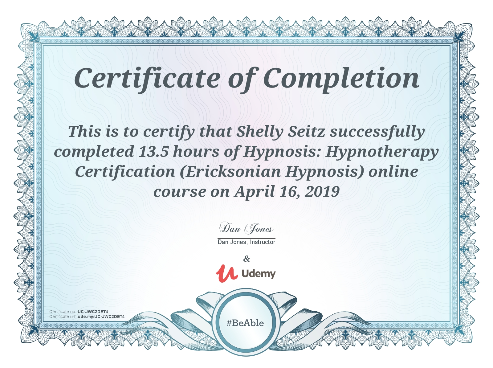 Ericksonian Hypnosis Hypnotherapy