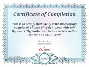 weight loss with self hypnosis