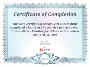 Oracle Card Academy Intermediate